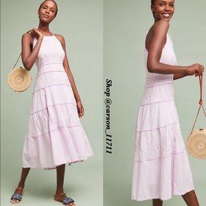NWT Anthropologie Sag Harbor Dress 8 Lavender